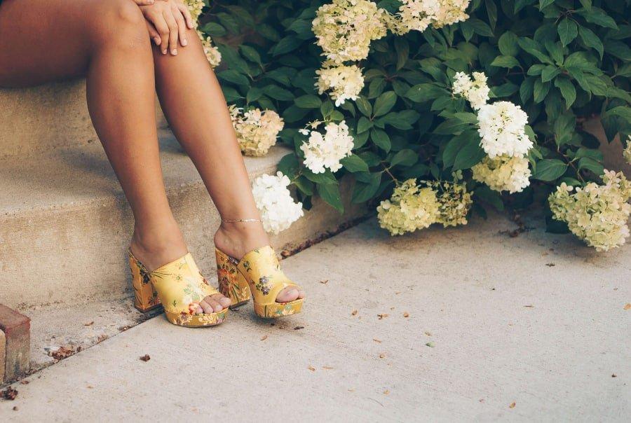 high heels period