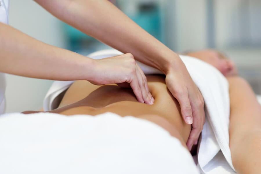 Abdominal massage periods fertility