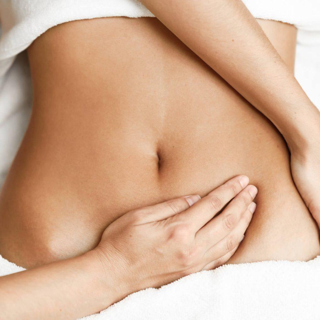 tummy massage
