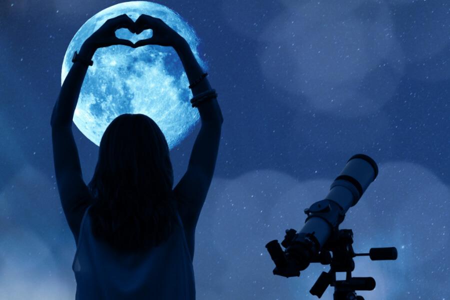 woman astronomy